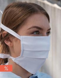 Mund-Nasen-Maske (Grüner Knopf, Fairtrade-zertifizierte Baumwolle, Bio-Baumwolle)