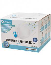 Filtering Half Mask FFP2 NR (Pack of 10)